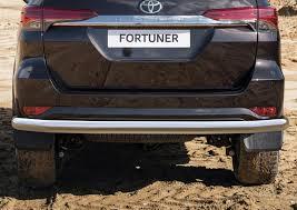 <b>Защита заднего</b> бампера Toyota Fortuner (Тойота Фортунер ...