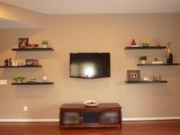 For Floating Shelves In Living Room Living Room With Beadboard And Floating Shelves Ways To Creating