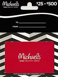 Michaels Gift Card $25 to $500: Gift Cards - Amazon.com