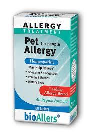 <b>Pet Allergy</b> 60 Tablets   <b>bioAllers</b>