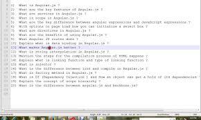top 20 angular js interview questions top 20 angular js interview questions