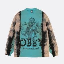 Купить футболку <b>OBEY</b> clothing в интернет-магазине Bruklin