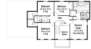 Center Hall Colonial   RK   nd Floor Master Suite  Butler    Reverse Floor Plan Pinit white