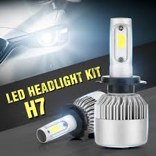 <b>ASLENT 2pcs</b> H7 LED S2 H4 H1 H11 H8 H9 H3 9005 9006 9007 ...