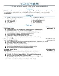 auto mechanic resume examples  seangarrette coauto mechanic resume