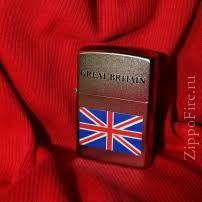 Zippo 205 <b>Union Jack</b> Flag, <b>Зажигалка Зиппо</b> с флагом ...