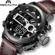 MEGALITH <b>Fashion Sport Men's</b> Watch Men Waterproof ...