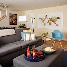 room cute blue ideas: image of dark grey walls living room ideas