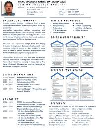 simplified resume