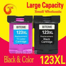 2pcs for hp 123 xl ink cartridge for hp deskjet 2130 1110 1111 1112 2132 3630 3632 printer ink