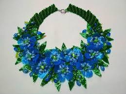Украшение Ожерелье Бусы <b>Голубое</b> ожерелье Подарок девушке ...