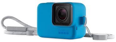 Силиконовый <b>чехол</b> с ремешком <b>GoPro</b> Blue (<b>ACSST</b>-<b>003</b>)
