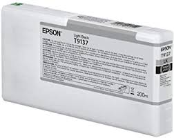 <b>EPSON T9137 Light</b> Black Ink Cartridge (200 ml): Amazon.de ...