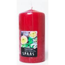 <b>Свеча</b> ароматизированная <b>Spaas Тропический восторг столбик</b> ...