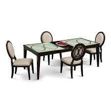 Value City Dining Room Tables Cosmo 5 Pc Dining Room Value City Furniture