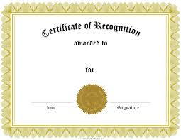 doc 523402 printable award templates 1000 ideas about award certificate of recognition template printable award templates