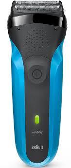 <b>Электробритва Braun Series</b> 3 Wet&Dry <b>310s</b>, синий — купить в ...