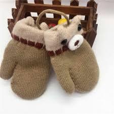 New <b>Winter</b> Cartoon <b>Hot Gloves Warm</b> Bear <b>Cute</b> Bear <b>Mittens</b> ...