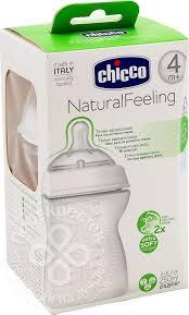 Купить <b>Бутылочка</b> для кормления <b>Chicco Natural Feeling</b> 4+ ...