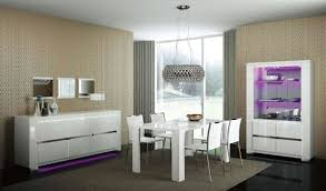 chair dining tables room contemporary: white modern dining chairs and white dining table also stainless drum pendant lamp in minimalist