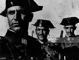 years since franco becomes head of state after end of spanish three members of dictator franco s feared guardia civil in rural spain from the essay spanish