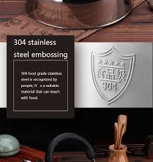 304 <b>Stainless Steel</b> Household Gas <b>Kettle Whistle</b> Teapot ...