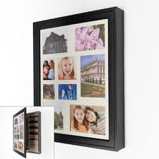 <b>Wood</b> Collage Frame <b>Jewelry Wall Cabinet</b> | <b>Jewelry</b> wall, <b>Wooden</b> ...