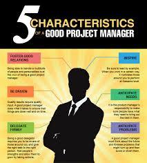five distinctive characteristics of a successful project manager five distinctive characteristics of a successful project manager infographic