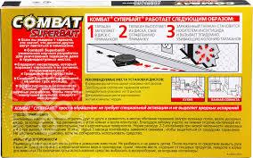 Купить <b>Средство</b> для борьбы с тараканами <b>Combat</b> Superbait ...