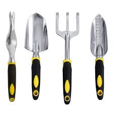 Mojing Garden Tools Set,<b>4 Piece</b>,<b>Garden</b> Tools kit with Ergonomic ...