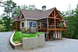 Lake Wedowee Creek Retreat House Plancorner lot craftsman lake house plan wedowee creek