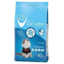 <b>Van Cat Fresh</b> 10 кг комкующийся <b>наполнитель</b> для кошачьих ...