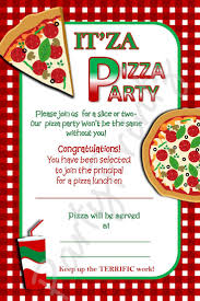 best images about party invites invitation pizza party invitations