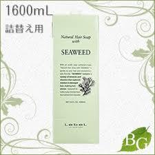BOTANIC GARDEN: <b>LebeL natural hair soap</b> (shampoo) sea weed ...