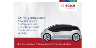 <b>Bosch</b> Survey: <b>New Car</b> Buyers Are Bullish On Automated <b>Vehicle</b> ...