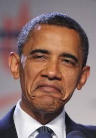 obamas funny face Blank Template - Imgflip via Relatably.com
