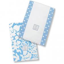 <b>Полотенчики SwaddleDesigns Baby Burpie</b> Set Blue Lush - Ju-Ju-Be