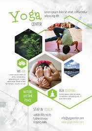 yoga center a promotional flyer premadevideos com a yoga center a5 promotional flyer premadevideos com a5