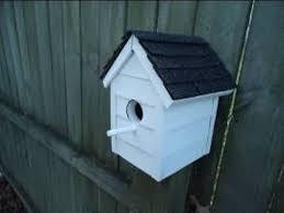 <b>Vinyl</b> Sided <b>Bird House</b> - DIY - YouTube