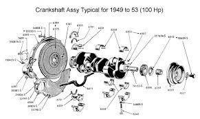 flathead engine rebuild recip assy recip assy