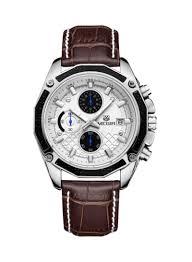 Buy Now - MEGIR <b>Men's</b> Leather Analog <b>Watch 2015</b> with Fast ...