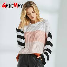 <b>Autumn Off The Shoulder</b> Sweaters For Women Sexy Long Sleeve ...