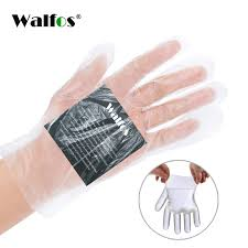 <b>100pcs</b> Disposable <b>Plastic Gloves</b> for Cooking Cleaning Food ...