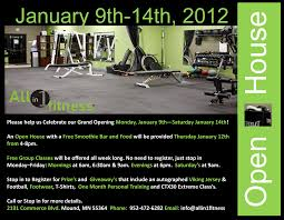 one girl ideas all in 1 fitness open house 1 9 12 1 14 12 all in 1 fitness open house 1 9 12 1 14 12