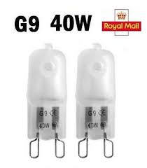 2 / 5 / <b>10 x G9 Halogen</b> Light Bulbs Capsule 240V 40W Watt Frosted ...