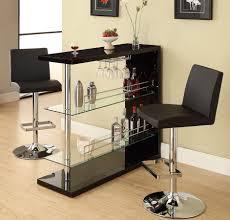 full size of kitchen modern pub table set black leather upholstery bar stools chrome metal black mini bar home wrought