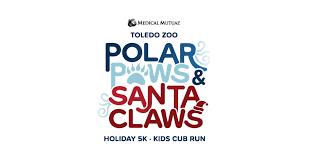 VIRTUAL Polar Paws & <b>Santa Claws</b> 5k by Toledo Zoo