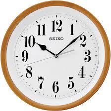 Деревянные <b>настенные часы Seiko QXA550A</b> — купить в ...