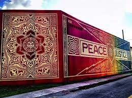 Image result for shepard fairey obey street art
