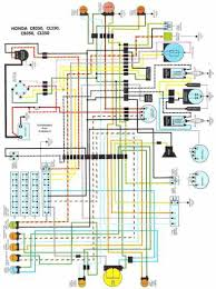 wiring schematic 4 stroke net all the data for your honda honda cl350 wiring schematic